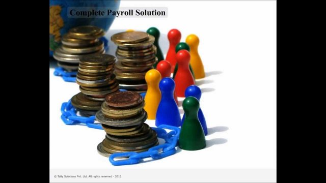 Payroll in Tally.ERP 9