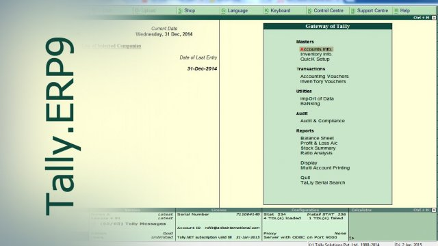 Tally.ERP9 : Quotation - Proforma Invoice in Tally